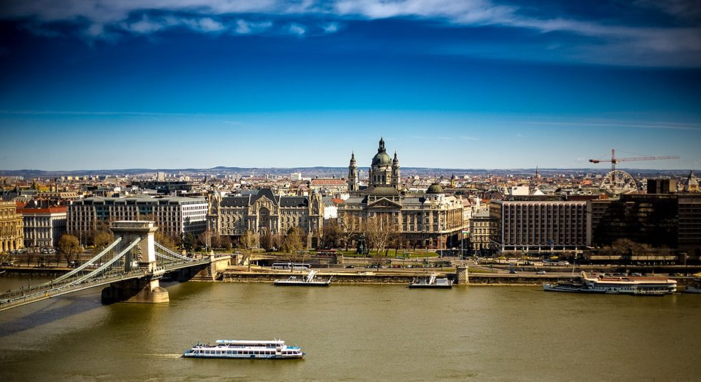 Utsikt Budapest