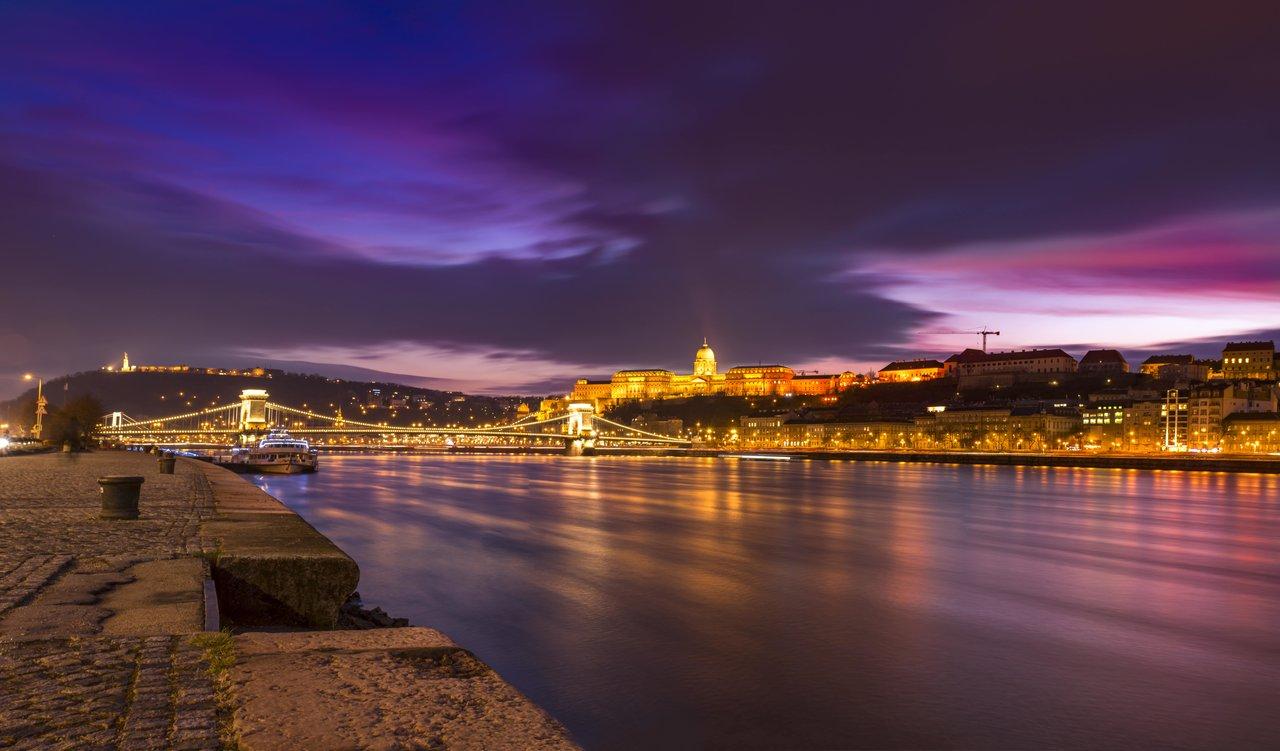 Budapest om kvelden