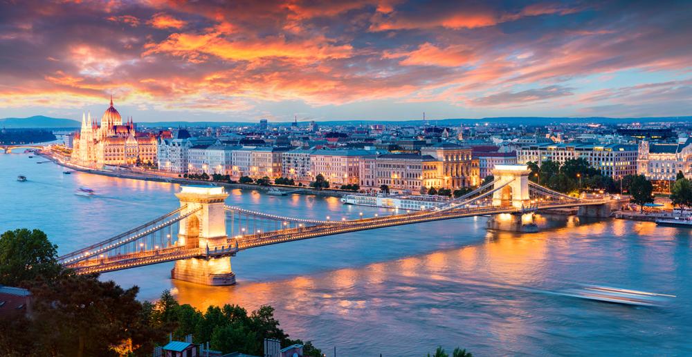 Utsikt over Budapest