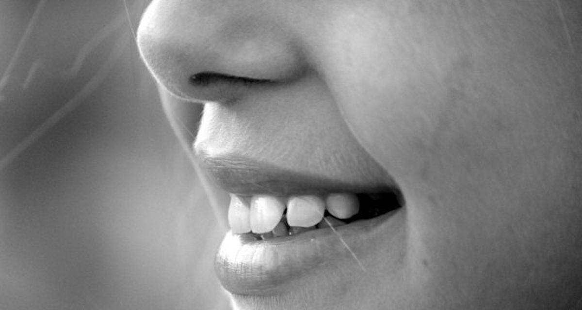 Smilende munn